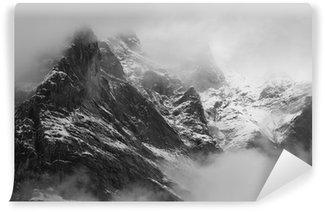 Vinylová Fototapeta Wetterhorn (3692 m) na obce Grindelwald, Švýcarsko