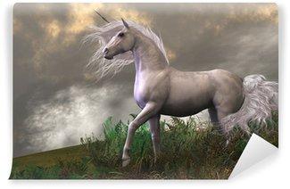 Vinylová Fototapeta White Unicorn Stallion