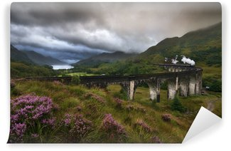 Fototapeta Vinylowa Wiadukt Glenfinnan, Szkocja