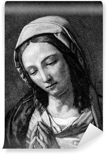 Fototapeta Vinylowa Wiara chrześcijańska - Dziewica Maryja: Modlitwa