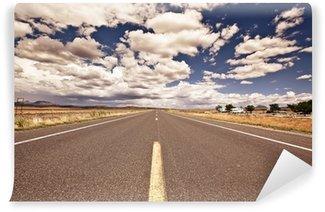 Fototapeta Winylowa Wiejska droga