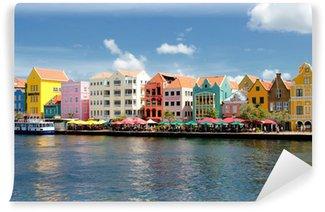 Vinylová Fototapeta Willemstad auf Curacao