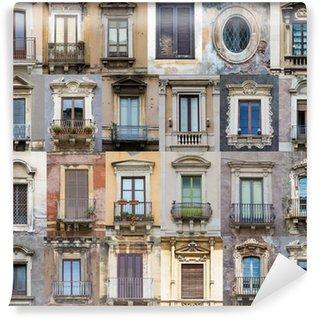 Vinylová Fototapeta Windows ze Sicílie