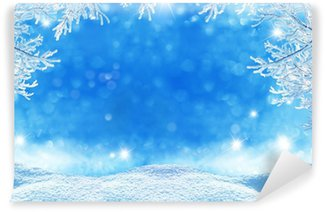 Fototapeta Winylowa Winter Christmas Background