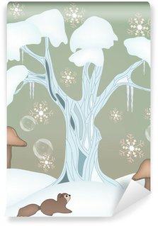 Fototapeta Winylowa Winter series - winter fairytale