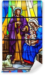Fototapeta Vinylowa Witraż w kościele katolickim