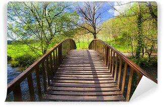 Fototapeta Winylowa Wooden Bridge