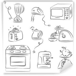 Fototapeta Winylowa Wyposażenie kuchni