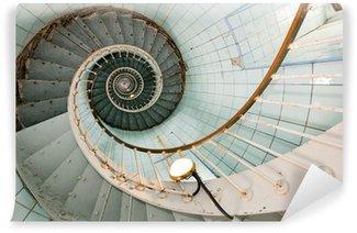 Fototapeta Winylowa Wysokie schody latarni