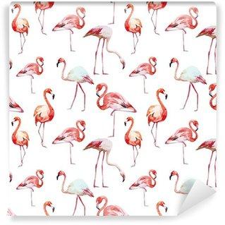 Fototapeta Winylowa Wzór flamingo
