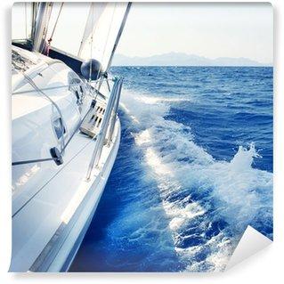 Vinylová Fototapeta Yacht. Plachtění. Yachting. Cestovní ruch. Luxury Lifestyle