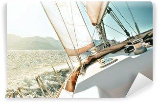 Vinylová Fototapeta Yacht Sailing