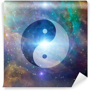 Vinylová Fototapeta Yin Yang Celestial