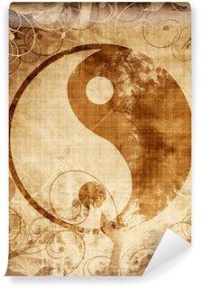 Vinylová Fototapeta Yin Yang znamení