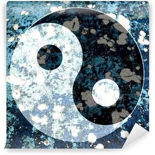 Vinylová Fototapeta Yin yang