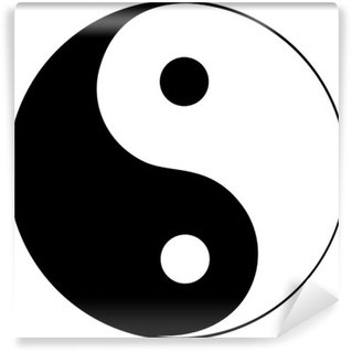 Vinylová Fototapeta Ying yang symbol harmonie a rovnováhy