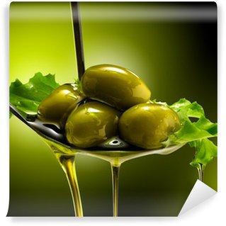Fototapeta Winylowa Z oliwek i oliwki