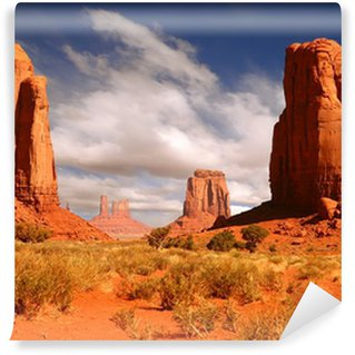Vinylová Fototapeta Zarámovaná Krajina Obrázek Monument Valley