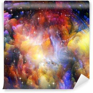 Vinylová Fototapeta Záře z vesmíru