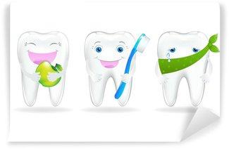 Fototapeta Winylowa Zbiór zębów