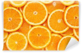 Vinylová Fototapeta Zdravé přírodní potraviny, pozadí. Pomerančový