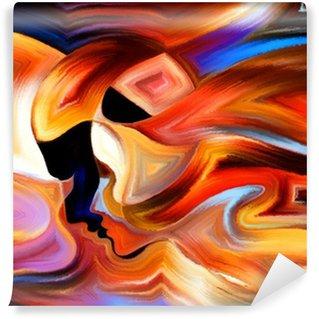 Vinylová Fototapeta Zdroj vnitřní Paint