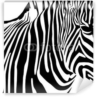 Vinylová Fototapeta Zebra