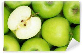 Vinylová Fototapeta Zelená jablka
