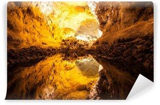 Vinylová Fototapeta Zelená jeskyně na Lanzarote