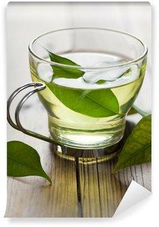 Vinylová Fototapeta Zelený čaj