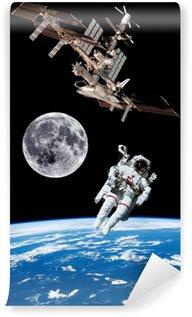 Vinylová Fototapeta Země Satellite Astronaut Space