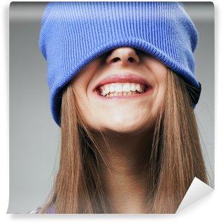 Vinylová Fototapeta Zimní úsměv