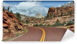 Vinylová Fototapeta Zion národní park
