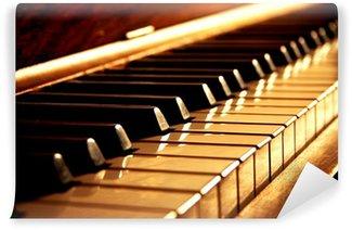 Vinylová Fototapeta Zlaté Piano Keys