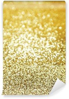 Vinylová Fototapeta Zlaté třpytky pozadí