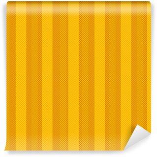 Vinylová Fototapeta Žlutá bezešvé geometrický vzor s čáry pixel