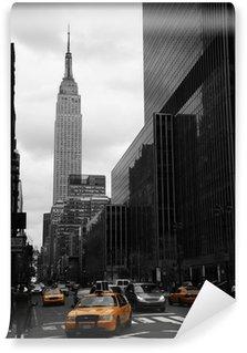Vinylová Fototapeta Žlutá taxi na třicátépáté Street, Manhattan, New York