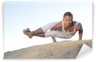 Fototapeta Zmywalna Yoga Pose Astavakrasana