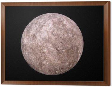 Framed Canvas 水星