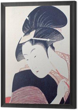 Framed Canvas 浮世絵