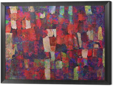 Framed Canvas Abstract art painting