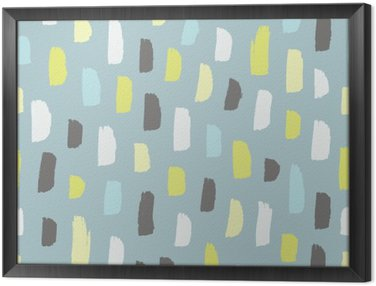 Framed Canvas Abstract pattern.