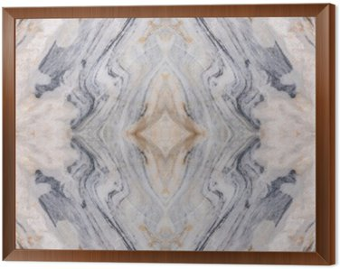 Framed Canvas Abstract surface marble pattern floor texture background