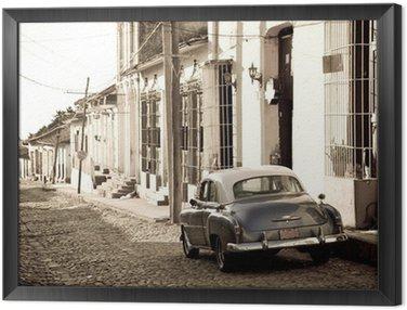 Antique car, Trinidad