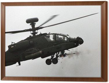 apache helicopter firing gun