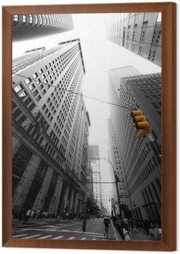 Framed Canvas avenue new yorkaise