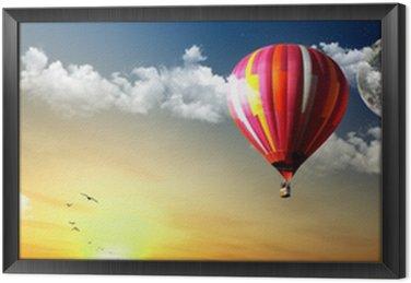 Framed Canvas Balloon