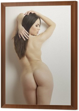 Framed Canvas beautiful adult sensuality naked woman