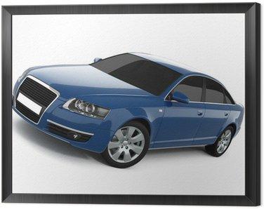Blue Business-Class Car