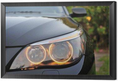 Framed Canvas BMW 2